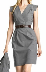 Wool Sheath Dress, $142, bananarepublic.com