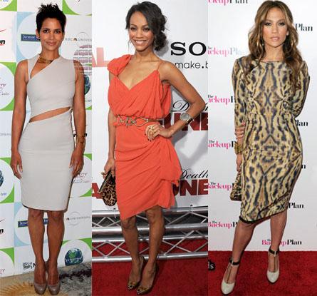 Halle Berry Zoe Saldana, Jennifer Lopez
