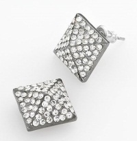 Simply Vera by Vera Wang Silvertone Pyramid Stud Earrings, $15.60, kohls.com