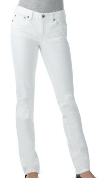 Calvin Klein Ultimate Destructed White Wash Skinny Jeans, $44.99, macys.com