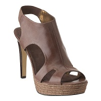 Mixitup Platform Sandal in Brown, $39.99, ninewest.com