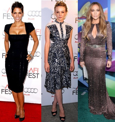 Halle Berry, Carey Mulligan, Jennifer Lopez