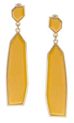 Art Deco Drop Irregular Stone Earrings, $20.69, asos.com