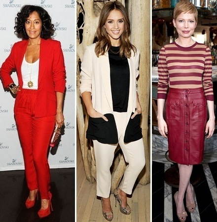 Tracee Ellis Ross, Jessica Alba, Michelle Williams