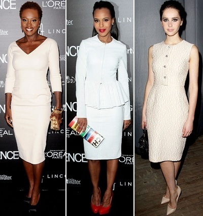 Viola Davis, Kerry Washington, Felicity Jones