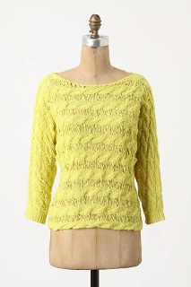 Tape Yarn Pullover, $49.95 on sale, anthropologie.com