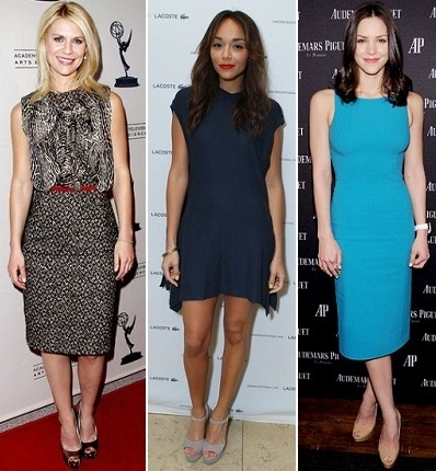 Claire Danes, Ashley Madekwe, Katherine McPhee