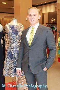 Fashion designer David Meister