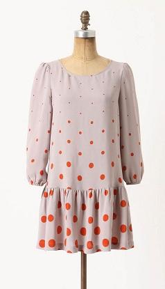 Minutiae Dropwaist Dress, $69.95, anthropologie.com