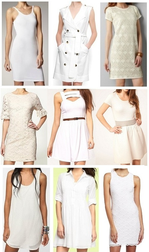 Little White Dresses