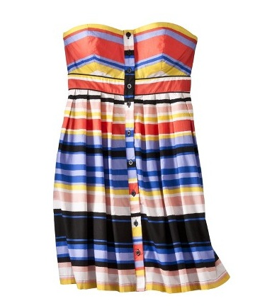 Xhilaration Juniors Strapless Dress, $24.99, target.com