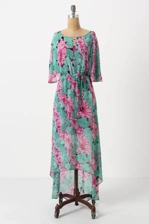 Hibiscus Dare Midi Dress, $89.95, anthropologie.com