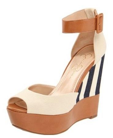 Jessica Simpson Cocoa Wedge Sandal, $98, endless.com