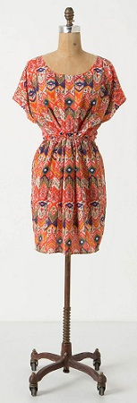 Manturango Dress, $59.95 (marked down from $118), anthropologie.com
