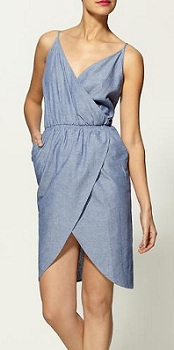 Hive & Honey Chambray Tulip Hem Dress, $29.99 (marked down from $59), piperlime.com