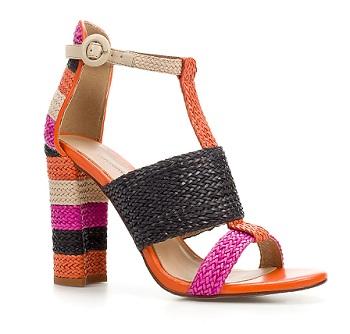 Woven Thong Sandal, $99.90, zara.com