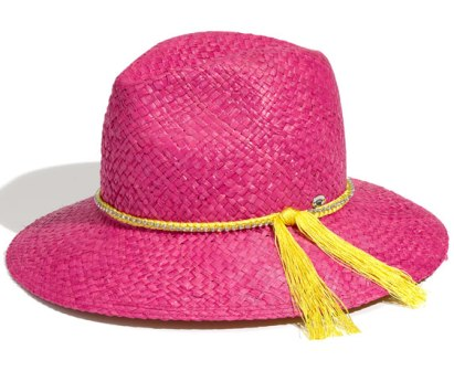 Juicy Couture Floppy Straw Hat, $29.97, nordstrom.com