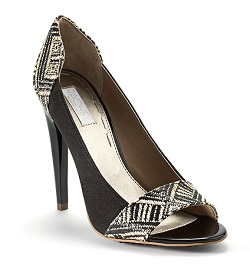 Emmaraye Peeptoe Pumps, $51.75 on sale (marked down from $99), rachelroy.com
