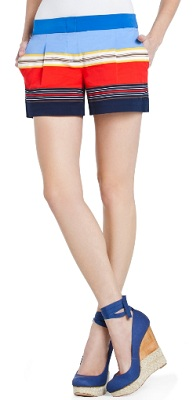 Pia Striped Shorts, $82.80 (marked down from $138), bcbg.com