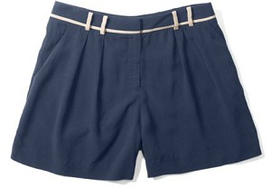 Lexie Contrast Shorts, $29, clubmonaco.com