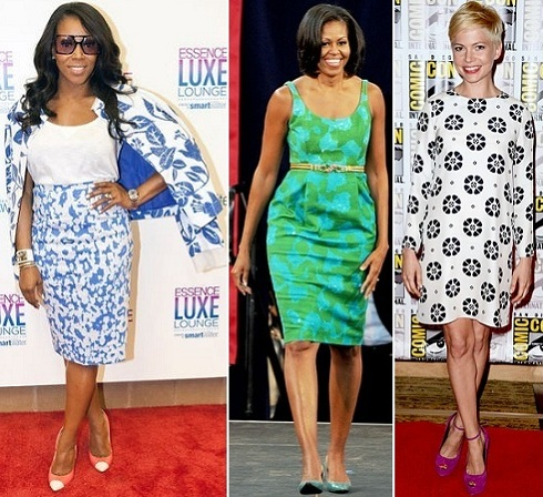 June Ambrose, Michelle Obama, Michelle Williams