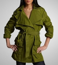 Double-Lapel Trench, $64.99 after 50% off markdown, kennethcole.com