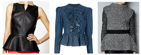 TREND: The Peplum