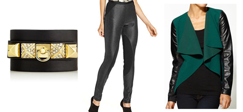 TREND: Leather