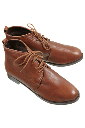 MATISSE Tan Leather Boots, $80, topshop.com