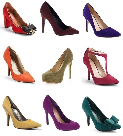 9 Colored Suede Pumps You'll Love