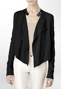 Moto Cascade Jacket, $64.99 on sale, calvinklein.com