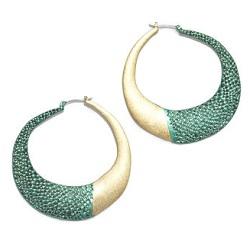 RACHEL Rachel Roy Snake Hoop Earrings, $19 (marked down from $36), rachelroy.com