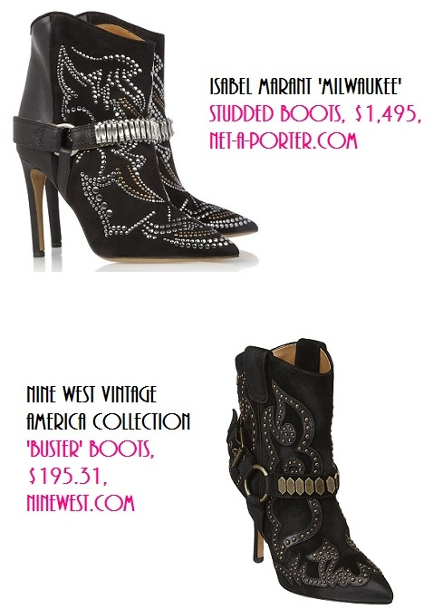 Luxe Life vs. Real Life: Studded Boots