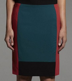 Narciso Rodriguez for Kohl's Colorblock Crepe Pencil Skirt, $28.80 (marked down from $48), kohls.com