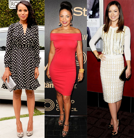 Kerry Washington, Sanaa Lathan, Olivia Wilde