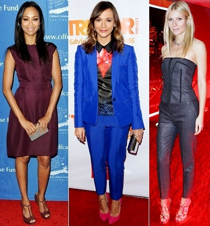 Zoe Saldana, Rashida Jones, Gwyneth Paltrow