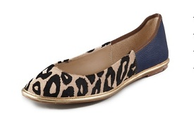 Diane von Furstenberg 'Botswana' Haircalf Flats, $59.40 (marked down from $198), shopbop.com