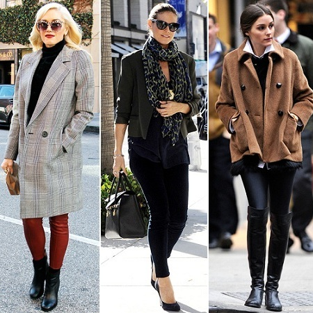 The Stylish Vote: Gwen Stefani, Heidi Klum, Olivia Palermo