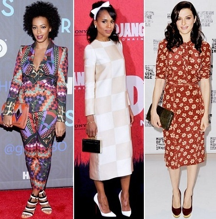 The Stylish Vote: Solange Knowles, Kerry Washington, Rachel Weisz