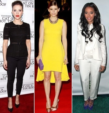 The Stylish Vote: Scarlett Johansson, Kate Mara, Angela Simmons