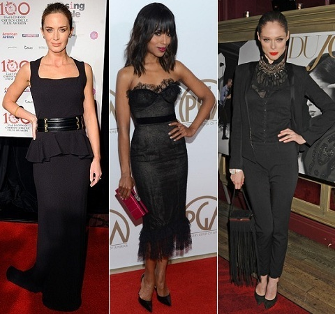 The Stylish Vote: Emily Blunt, Kerry Washington, Coco Rocha