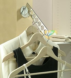 Wall-Mounted Laundry Valet, $14.75, amazon.com