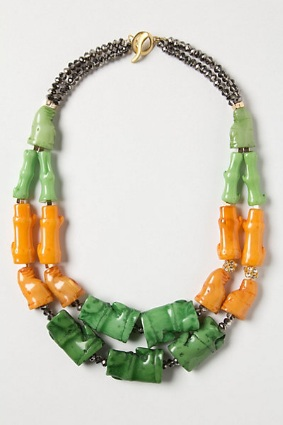 Verdura Segment Necklace, $29.95, anthropologie.com