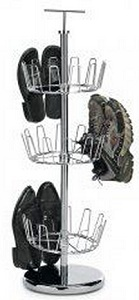 3-Tier Revolving Shoe Tree,  $35.99,  lnt.com