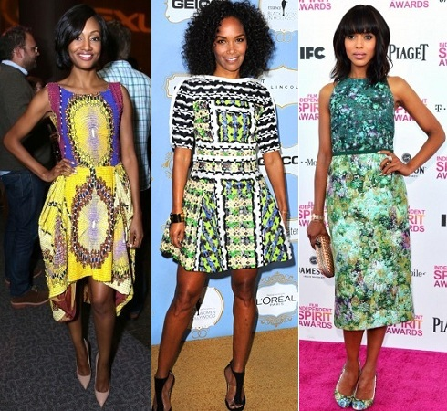 Nichole Galicia, Mara Brock Akil, Kerry Washington