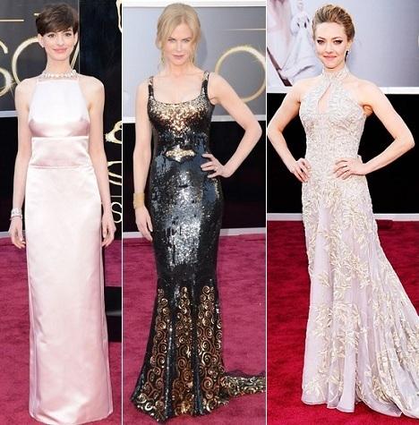 Oscars 2013: Anne Hathaway, Nicole Kidman, Amanda Seyfried