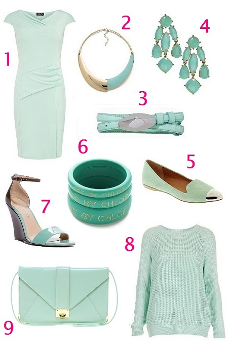 Mint color trend