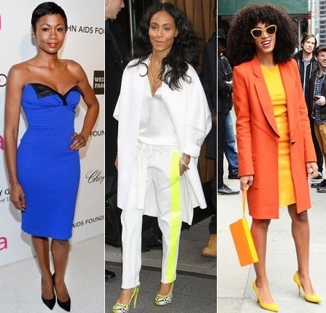 The Stylish Vote: Emayatzy Corinealdi, Jada Pinkett Smith, Solange Knowles