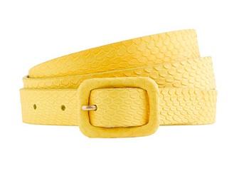 Snakeskin Covered Buckle Belt, $45, jcrew.com