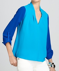 T Tahari 'Edie' Blouse, $49.56 (originally $118), bloomingdales.com